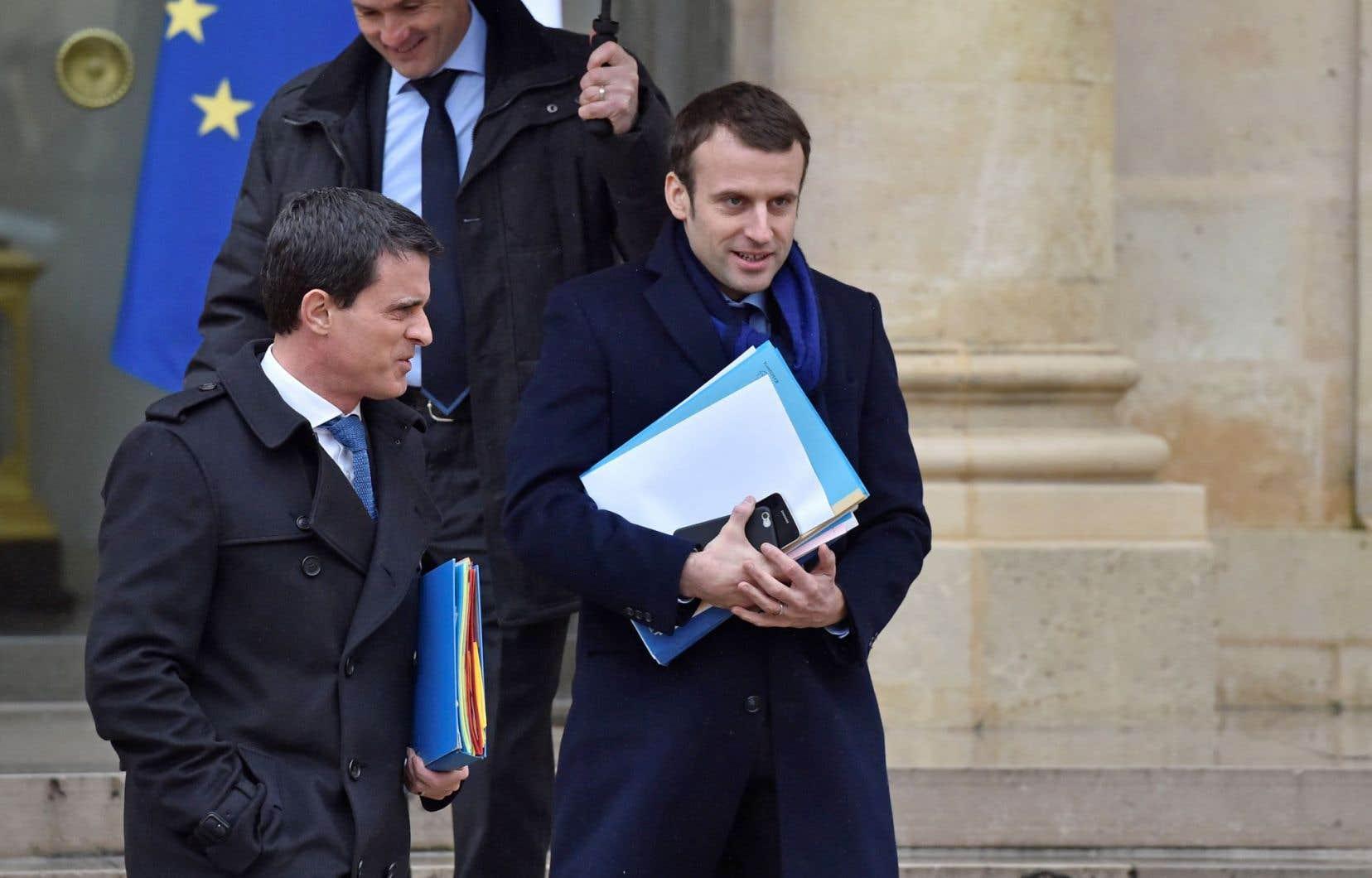 Le prochain président français, Emmanuel Macron