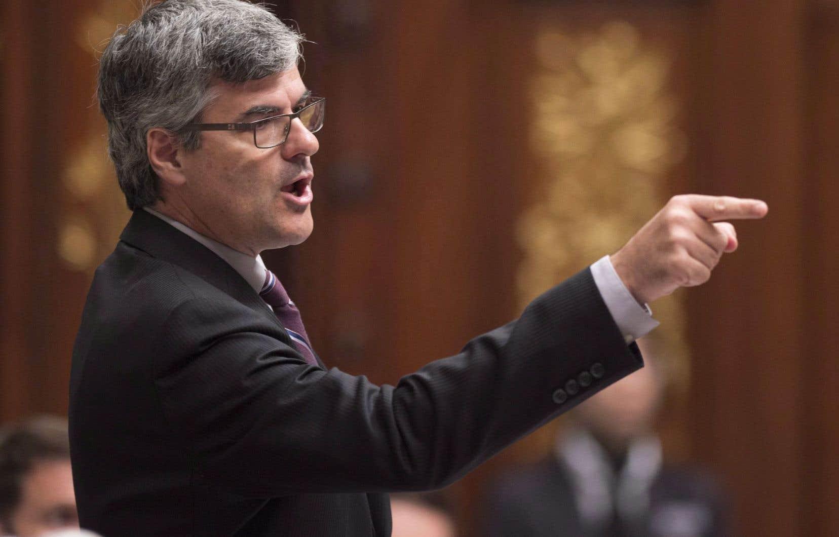 <p>Le député caquiste de La Peltrie, Éric Caire</p>