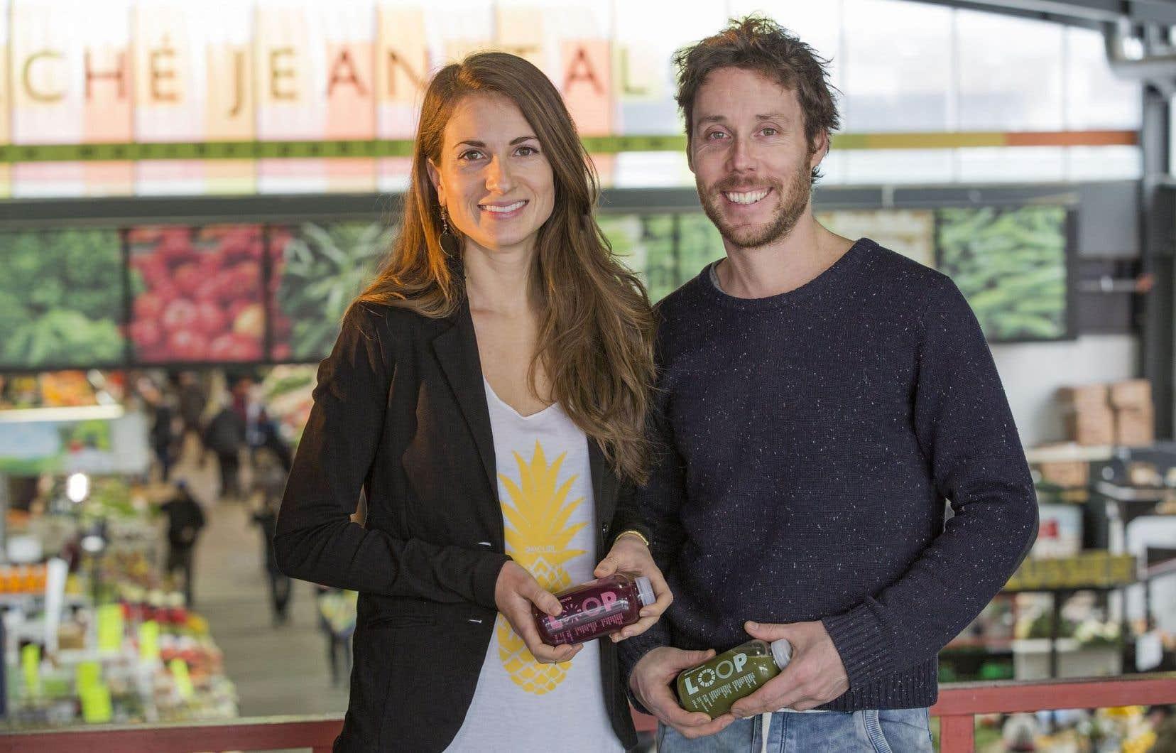 Partenaires en amour et en affaires, Julie Poitras-Saulnier et David Côté ont créé un nouveau modèle d'entreprise en lançant Loop.