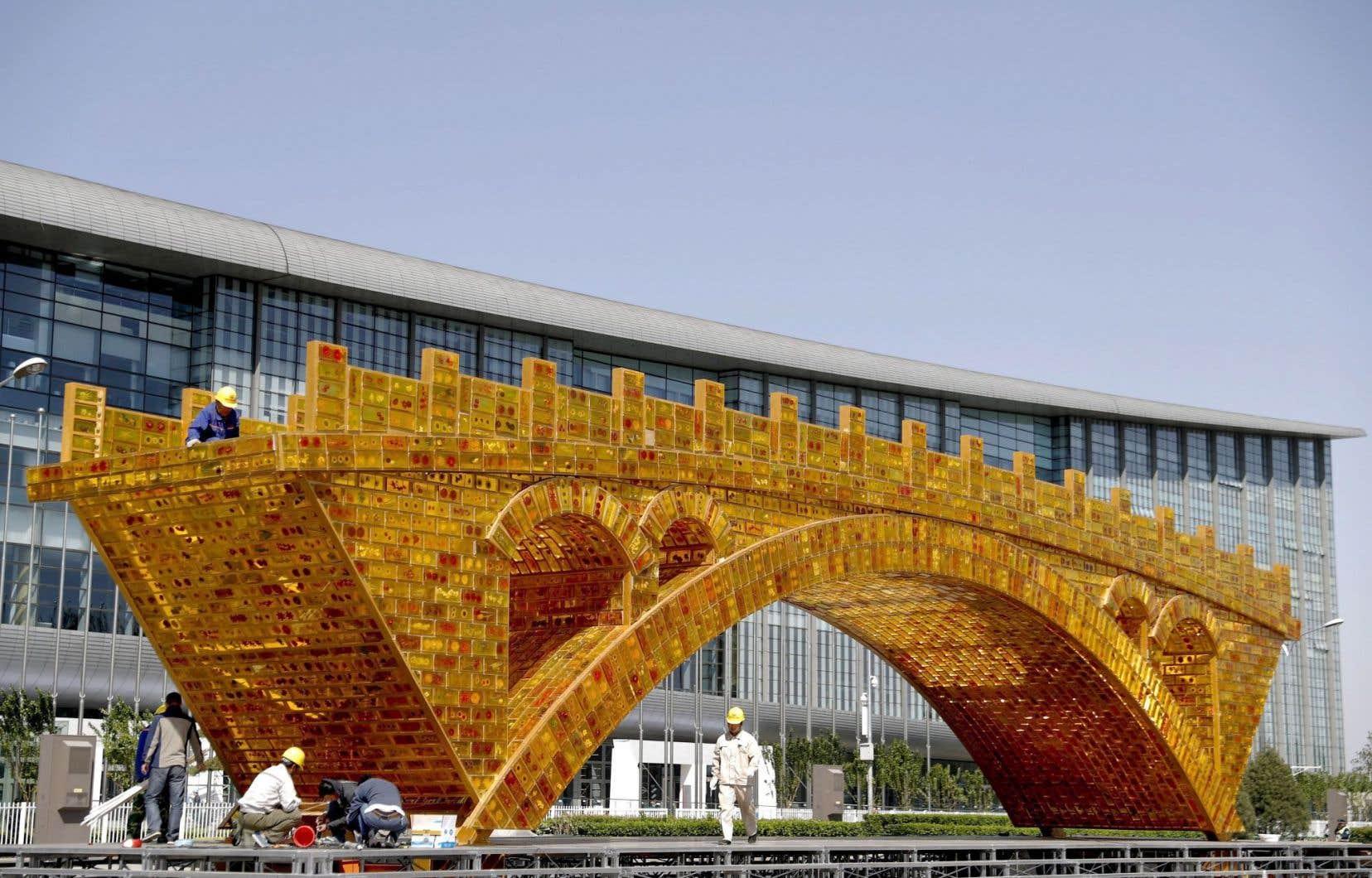 La nouvelle route de la Soie, pont terrestre mondial Collectif