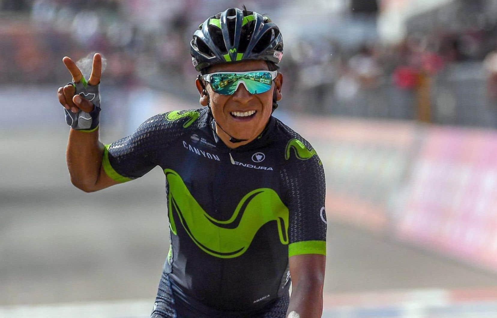 Le cyclistecolombien Nairo Quintana