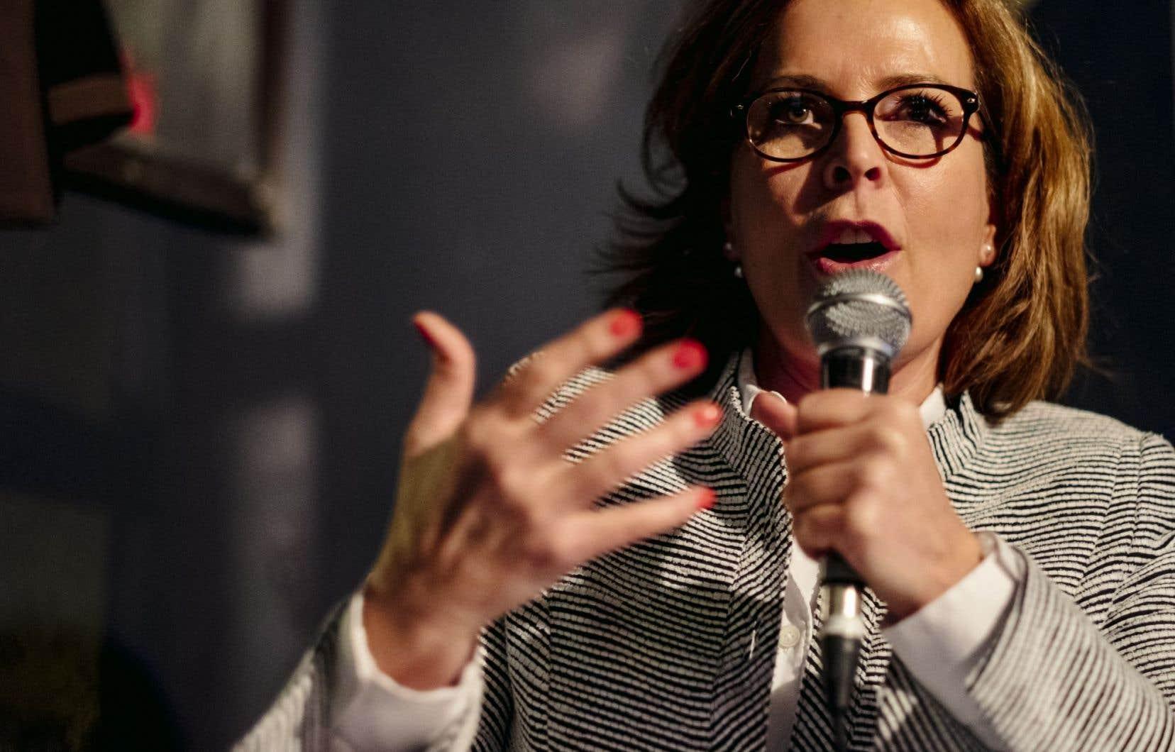 Anne Guérette a été élue à la tête de Démocratie Québec en décembre dernier