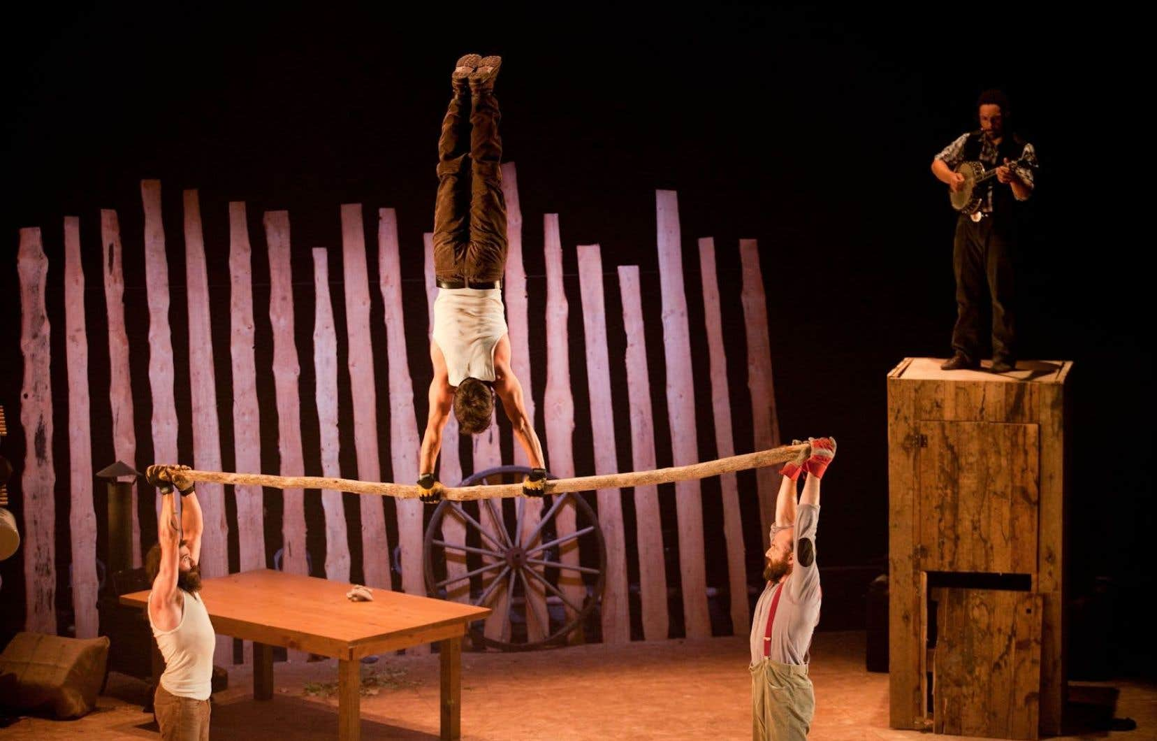 Spectacle «Timber» du Cirque Alfonse