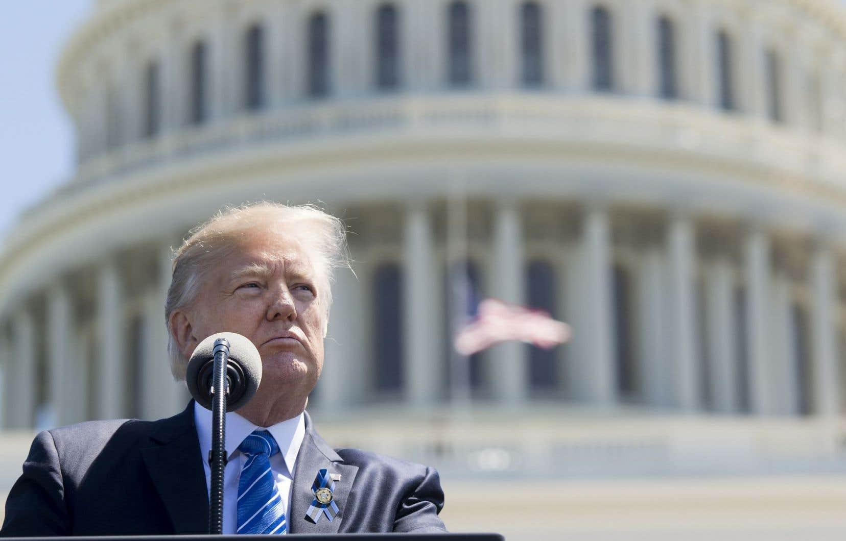 Les visées protectionnistes du président américain pourraient nuire à la croissance économique du pays.