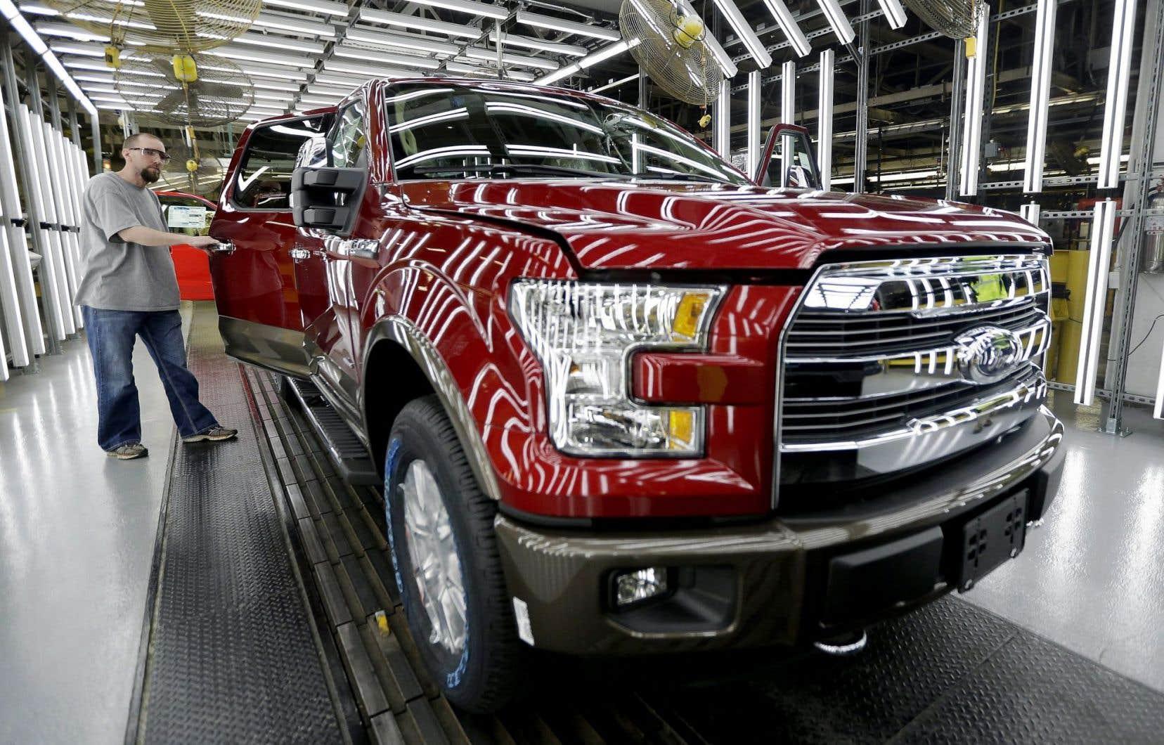 Les constructeurs sont aux prises avec un plafonnement des ventes de voitures aux États-Unis.