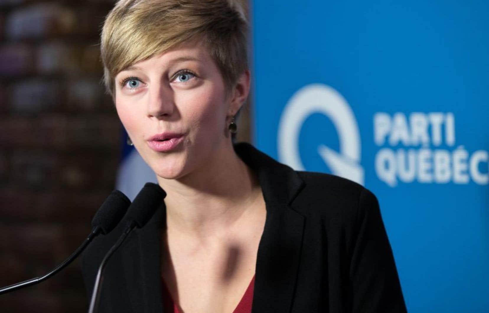 Gabrielle Lemieux a brigué les suffrages sous la bannière du PQ dans la circonscription de Saint-Henri-Saint-Anne lors de l'élection partielle de 2015.