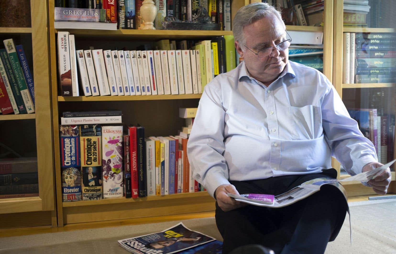 «Il faut comprendre que les belles années des médias sont finies», analyse Robert Goyette.