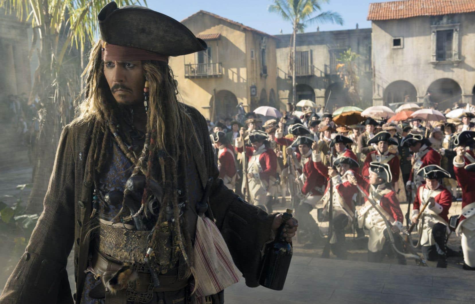 Johnny Depp renoue avec le personnage de Jack Sparrow.
