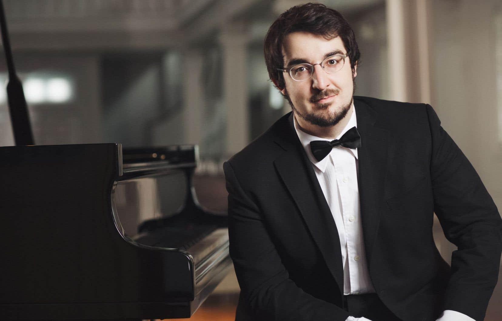 Le concert du 2 juin associera, chose rare, Charles Richard-Hamelin (notre photo) et Stéphane Tétreault dans des oeuvres de Franck, Fauré et Chopin.