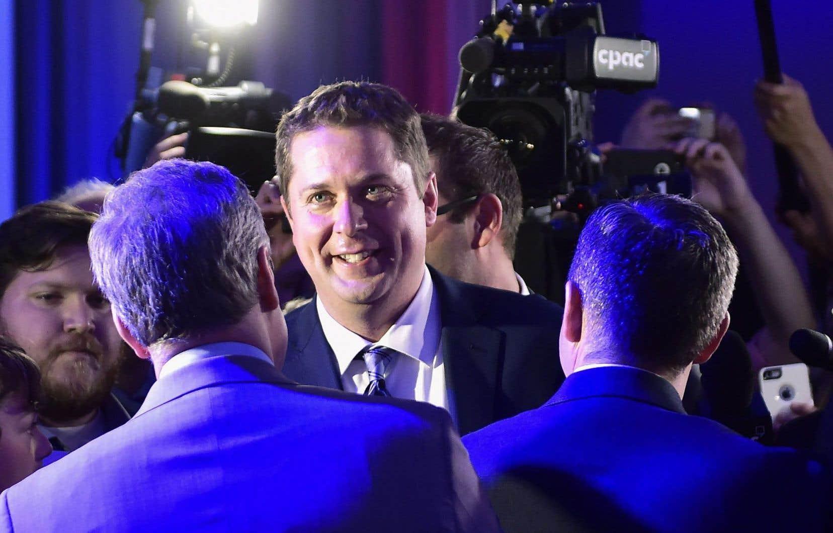 Le nouveau chef du Parti conservateur, Andrew Scheer