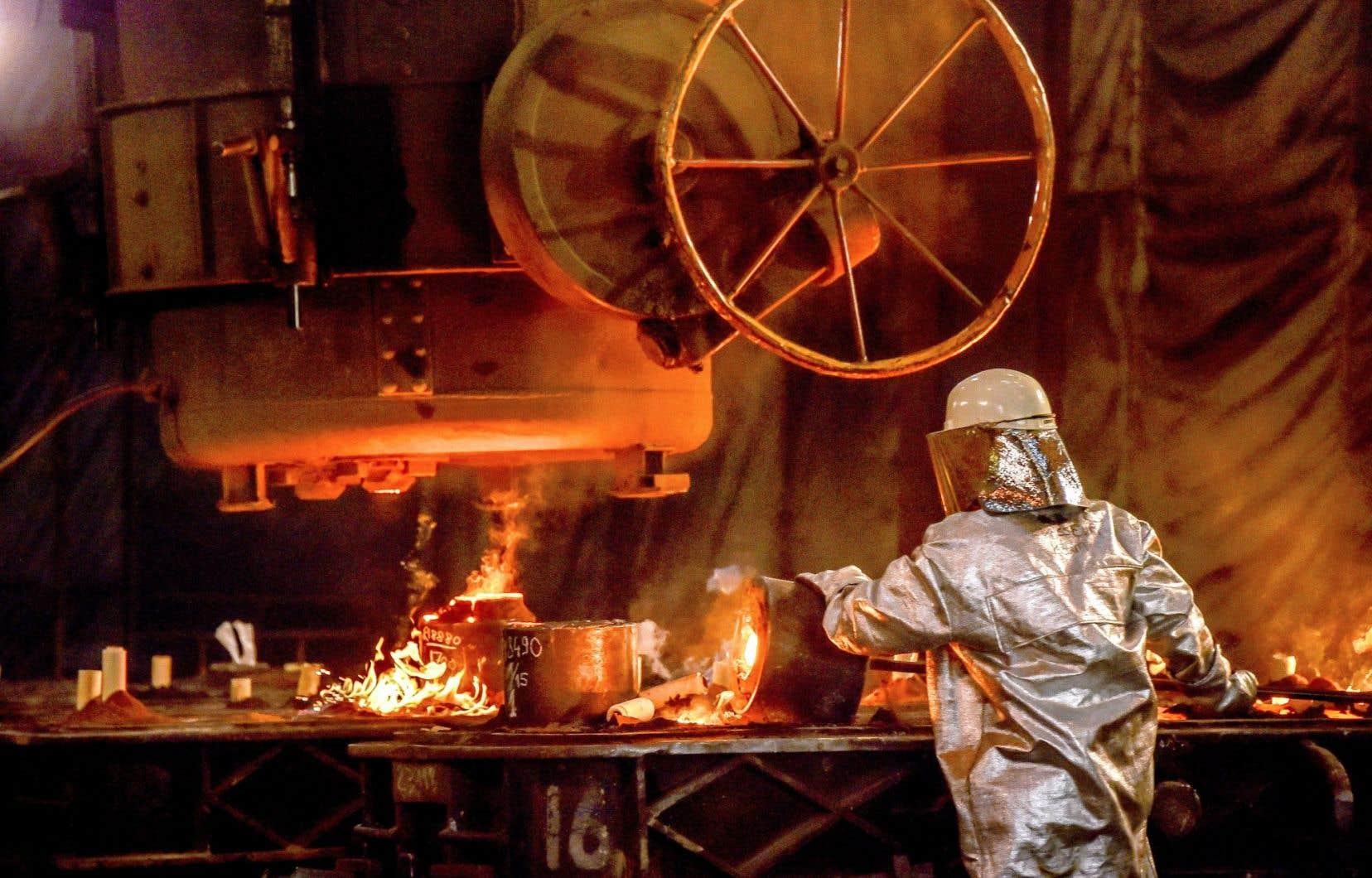 L'industrie de la sidérurgie s'inquète des nouveaux quotas d'émission.