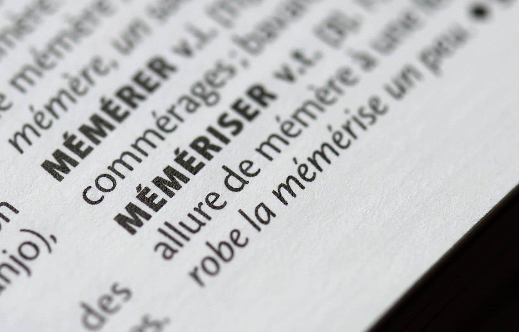 En 2015, «Le Petit Larousse» intégrait le mot «mémériser» dans son édition 2016.