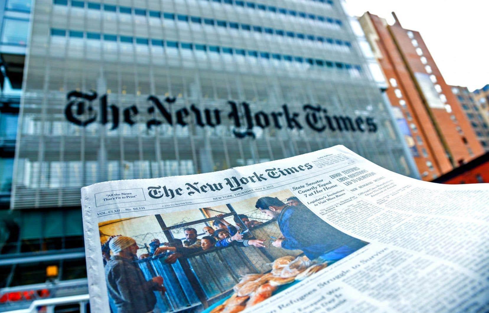 Le «New York Times» a annoncé mercredi qu'il supprimait le poste d'ombudsman qu'occupait Elizabeth Spayd depuis mai2016.