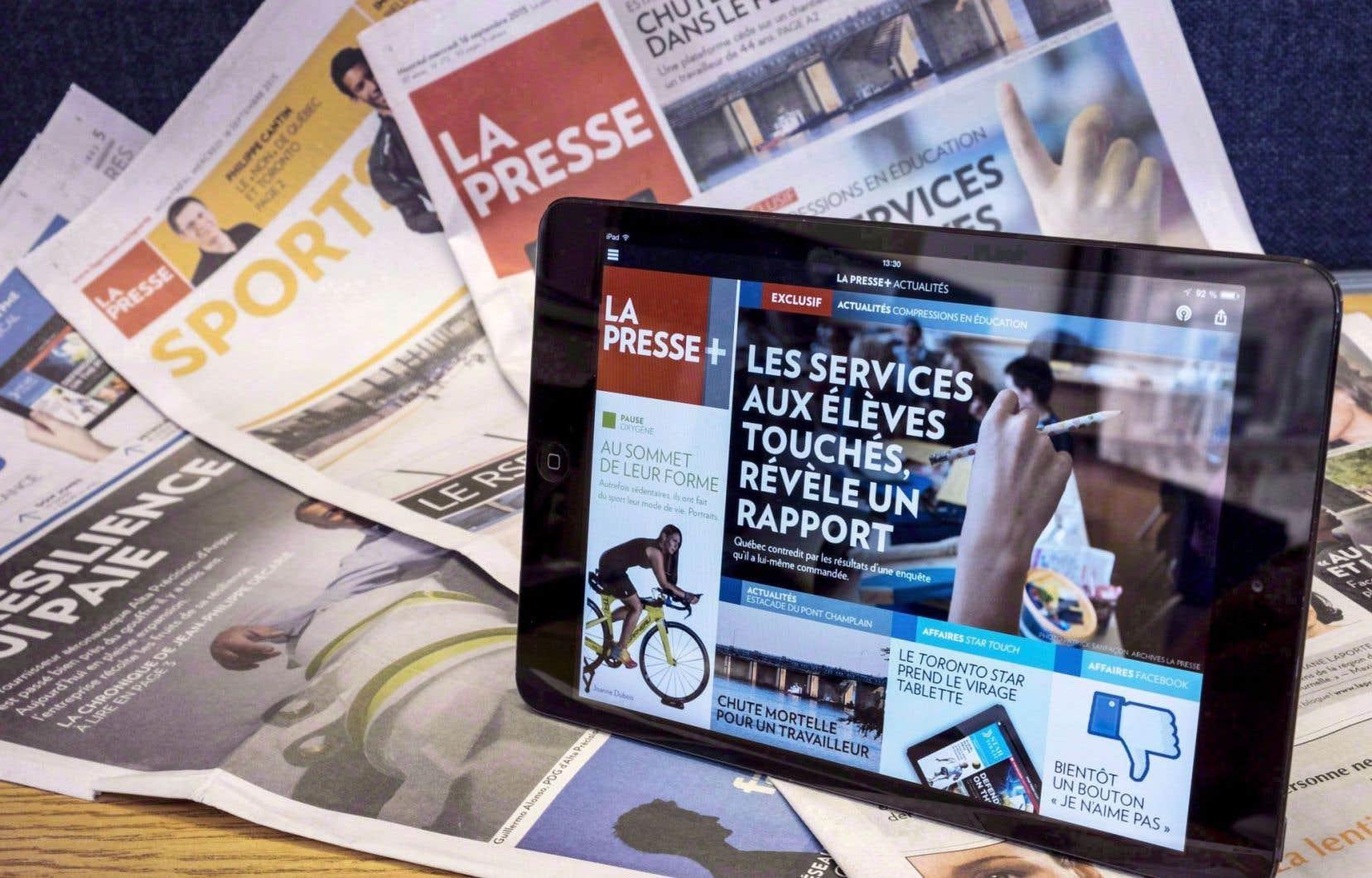 «La Presse» deviendra entièrement numérique à compter de 2018. Cette mesure se traduira par la suppression de 49 emplois permanents et temporaires, selon la direction.