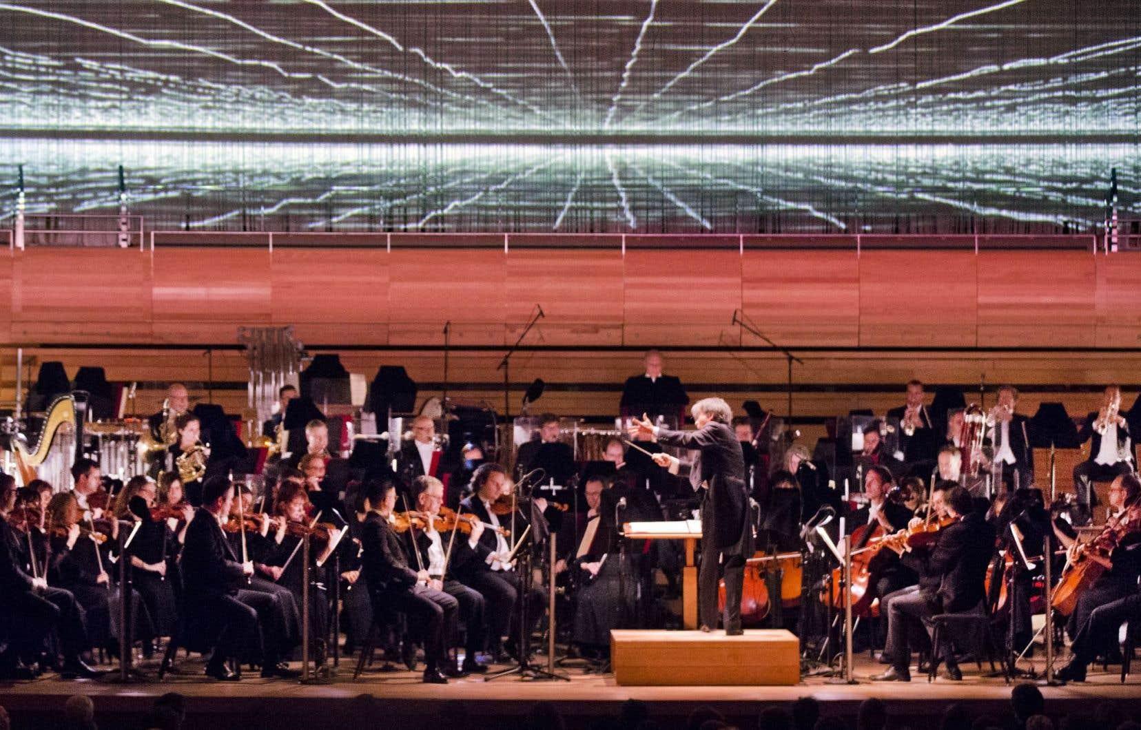 L'OSM a bouclé mercredi sa saison avec une symphonie du Montréalais Samy Moussa.