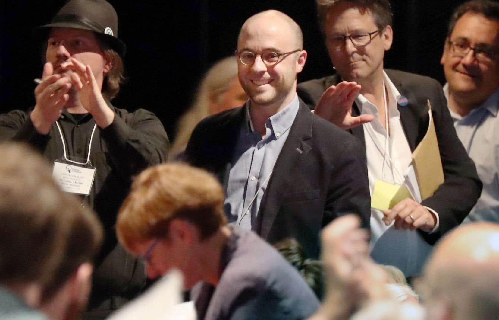 Sol Zanetti lors du congrès de Québec solidaire