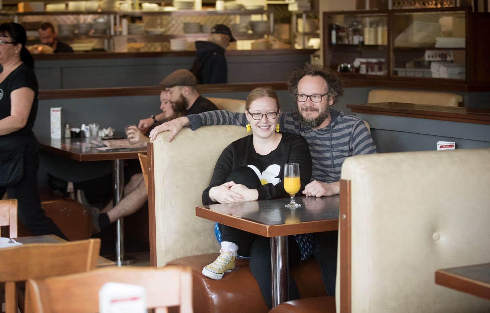 Kathleen Aubert et Stéfan Cédilot cultivent une véritable passion pour le festival Fringe.
