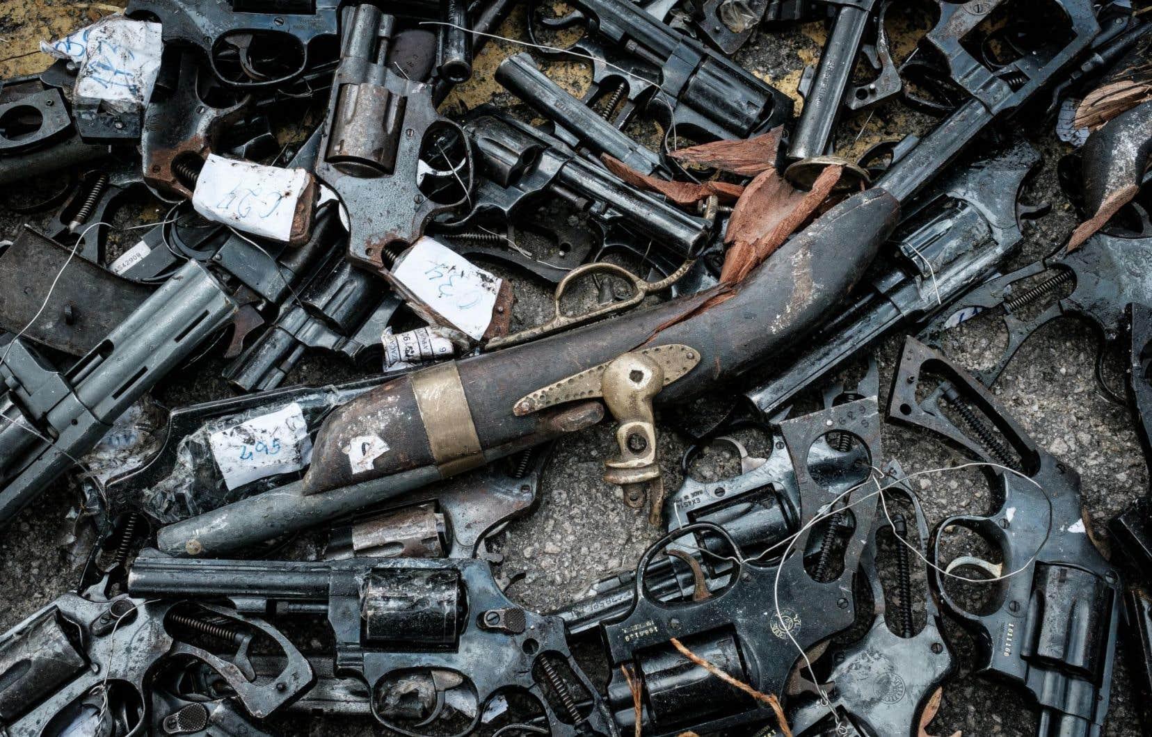 71,9 % des homicides au Brésil en 2015 ont été commis avec une arme à feu.