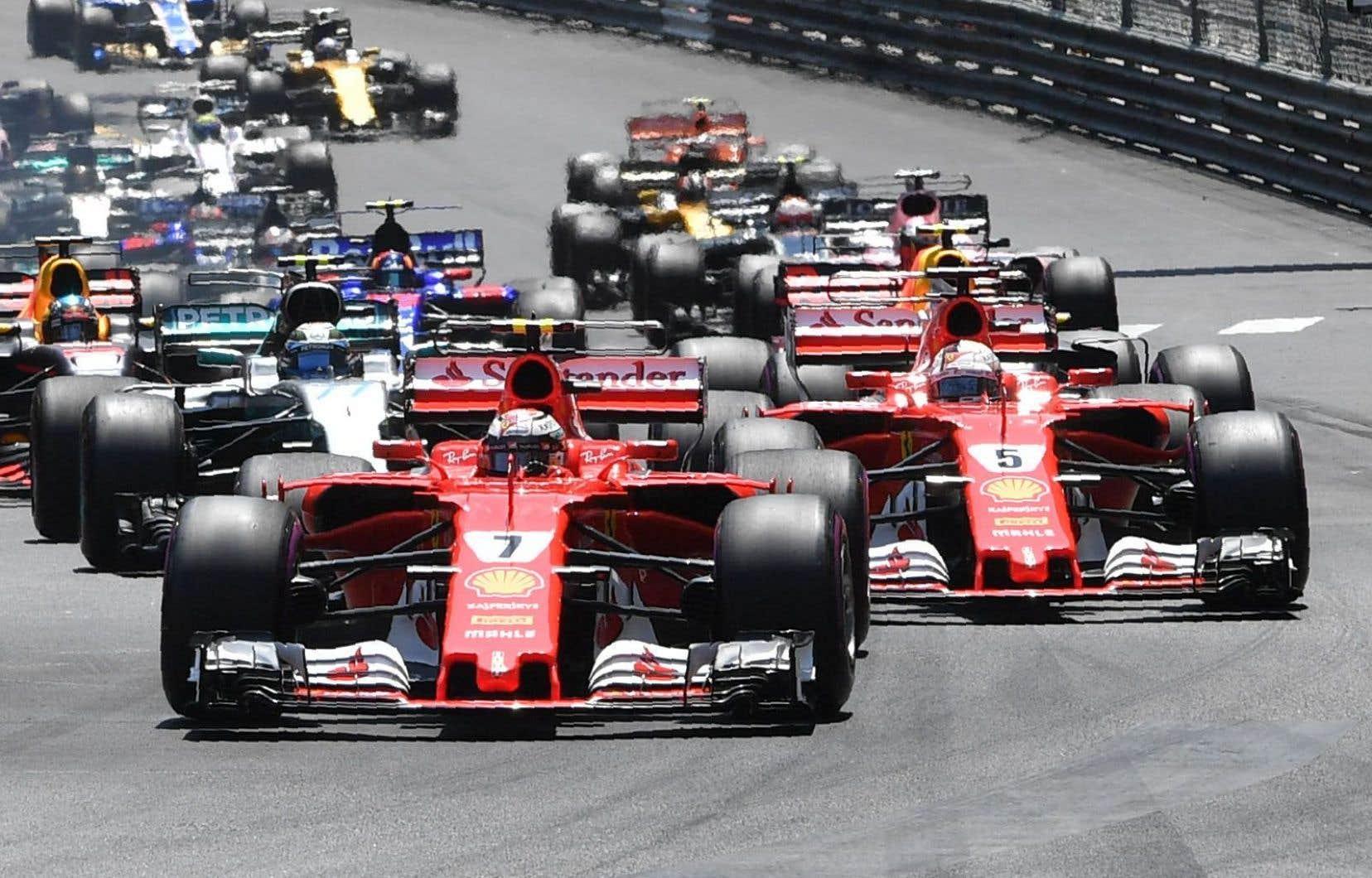 L'écurie Ferrari domine actuellement le classement du championnat des constructeurs.