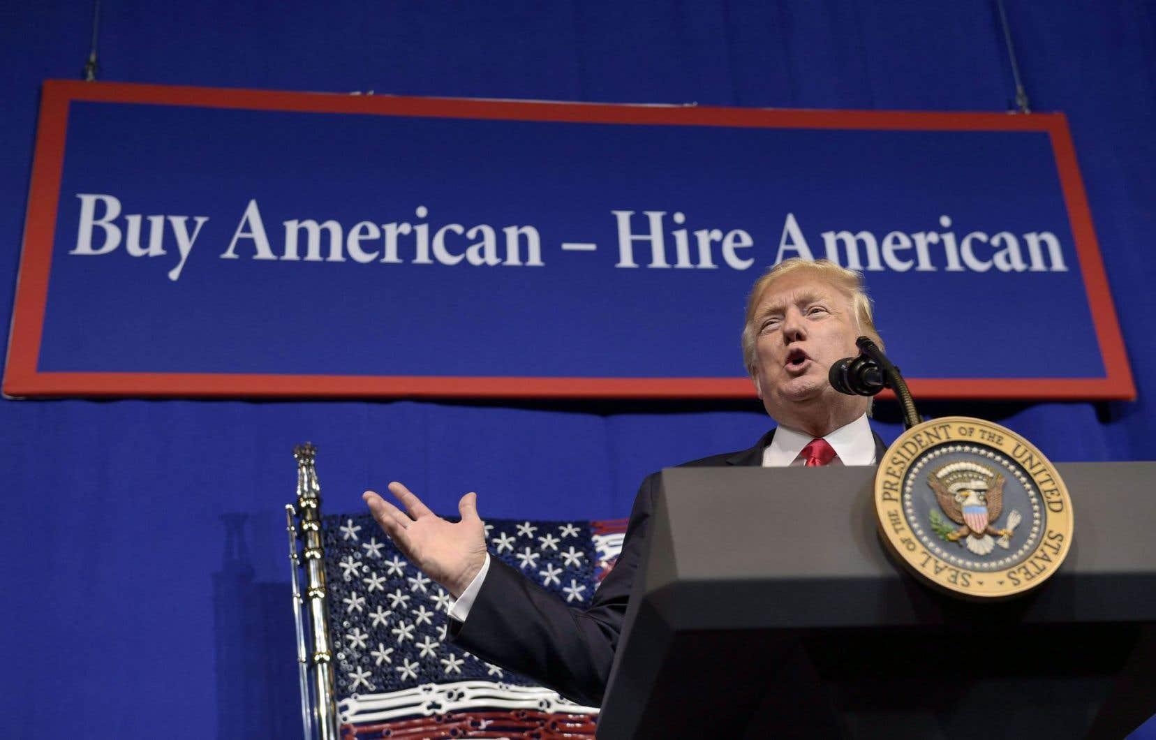 Ce qui est nouveau depuis l'arrivée du président Trump, c'est cette conception des rapports économiques internationaux qui est la sienne: une conception farouchement guerrière et binaire.