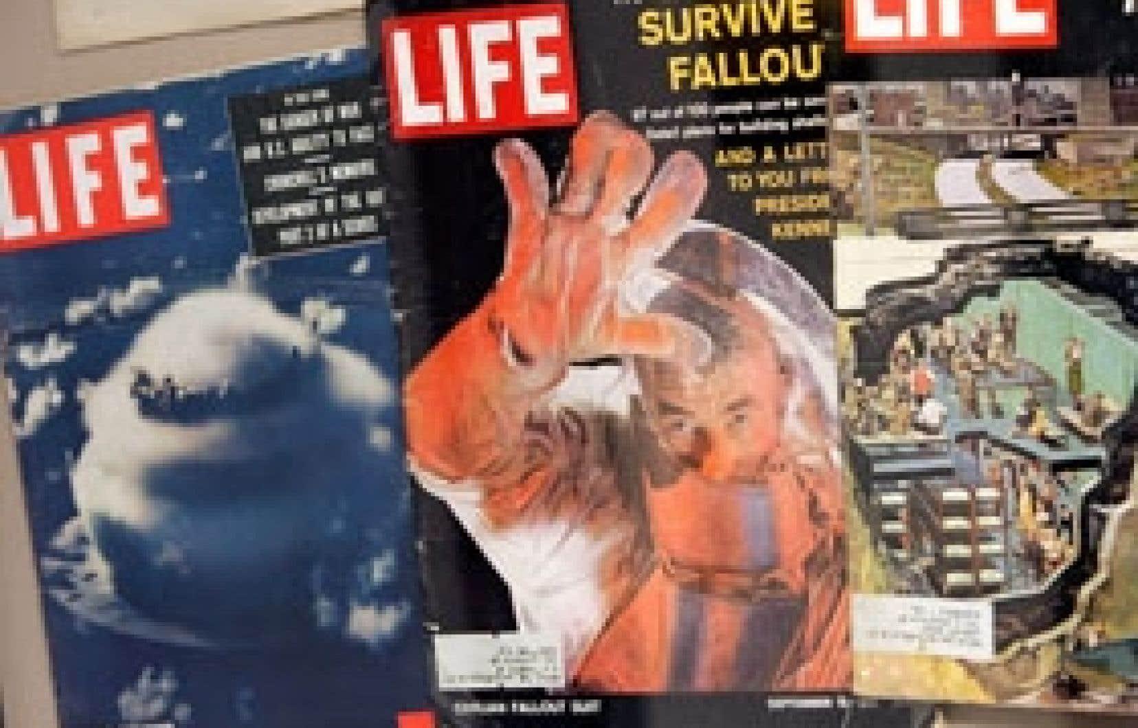 Le magazine illustré américain Life, a été le plus influent au monde dans les années 1930 à 1960.