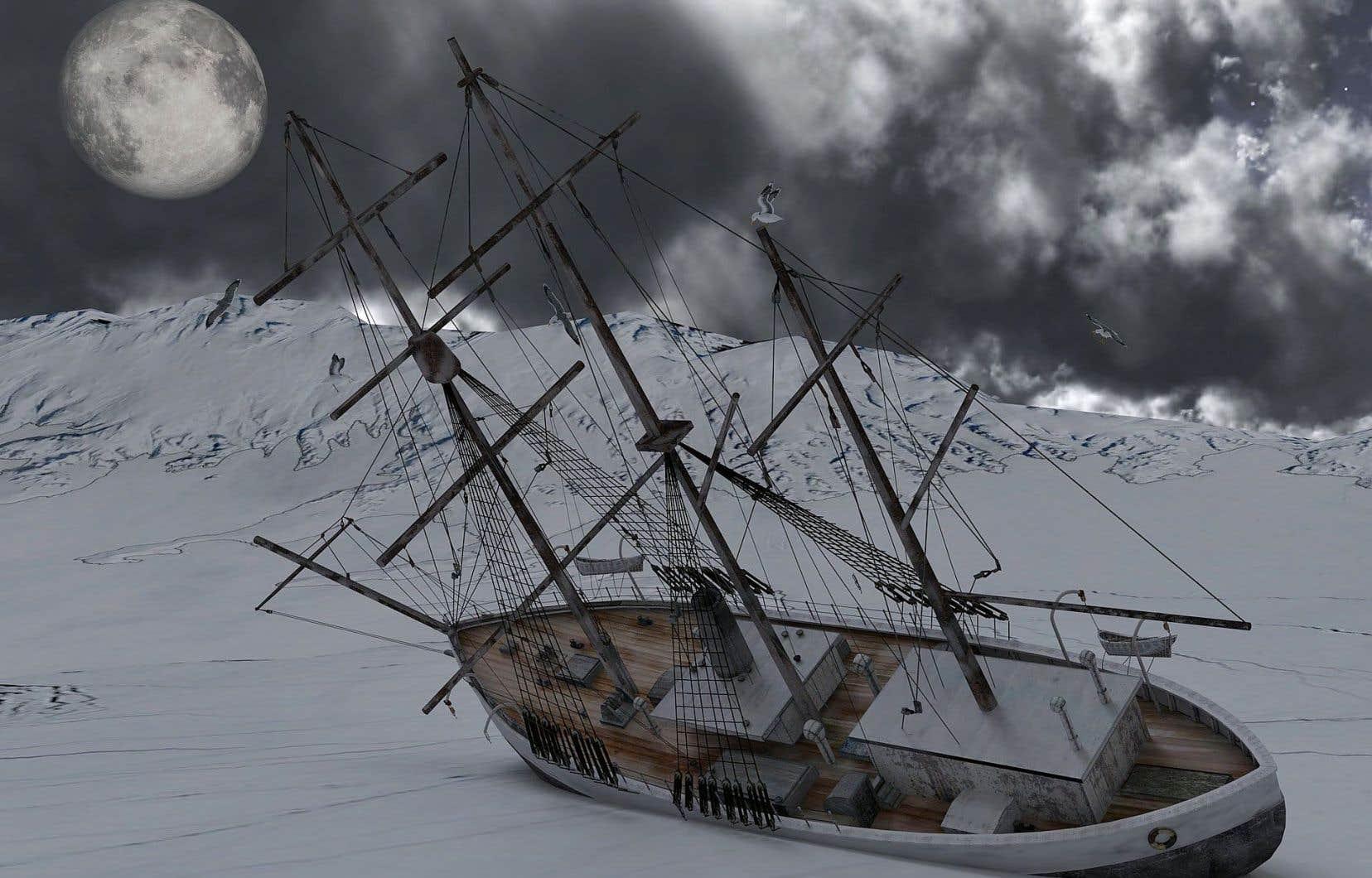 L'allusion à l'historique paquebot servira peut-être d'appât, car de naufrage, il est surtout question par la métaphore.