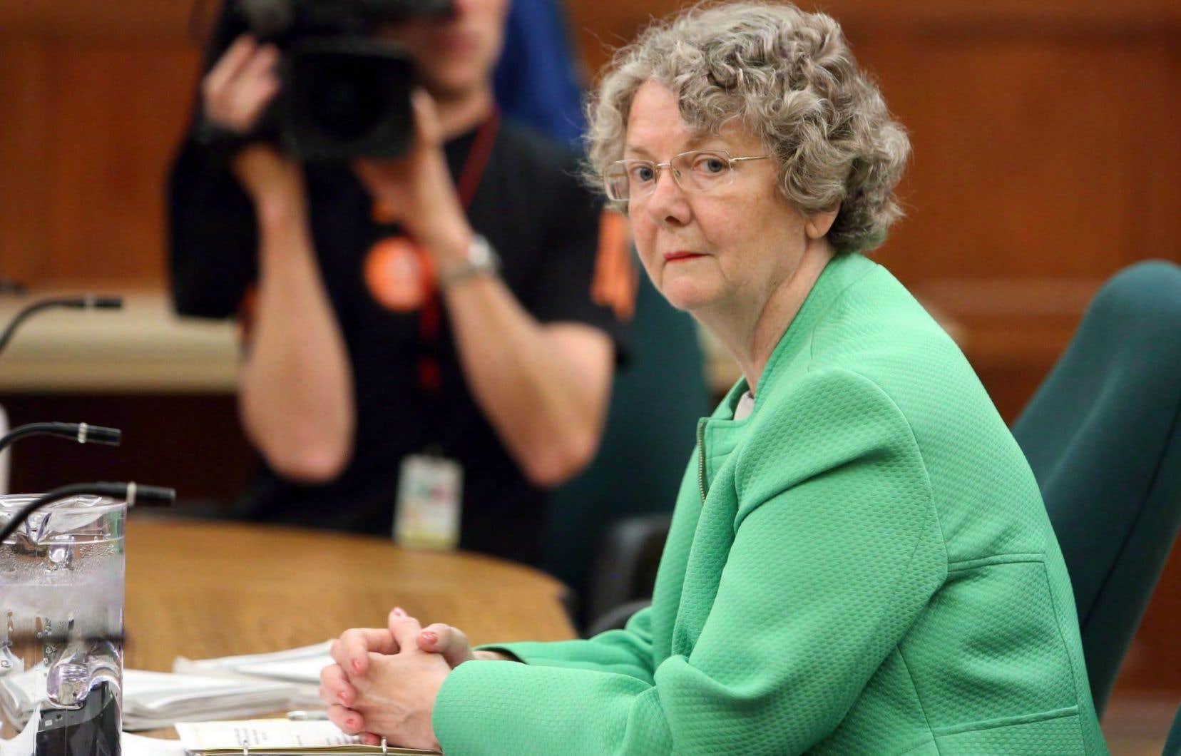 C'est la troisième fois que lacommissaire aux conflits d'intérêts et à l'éthiqueMary Dawson voit son mandat être renouvelé.