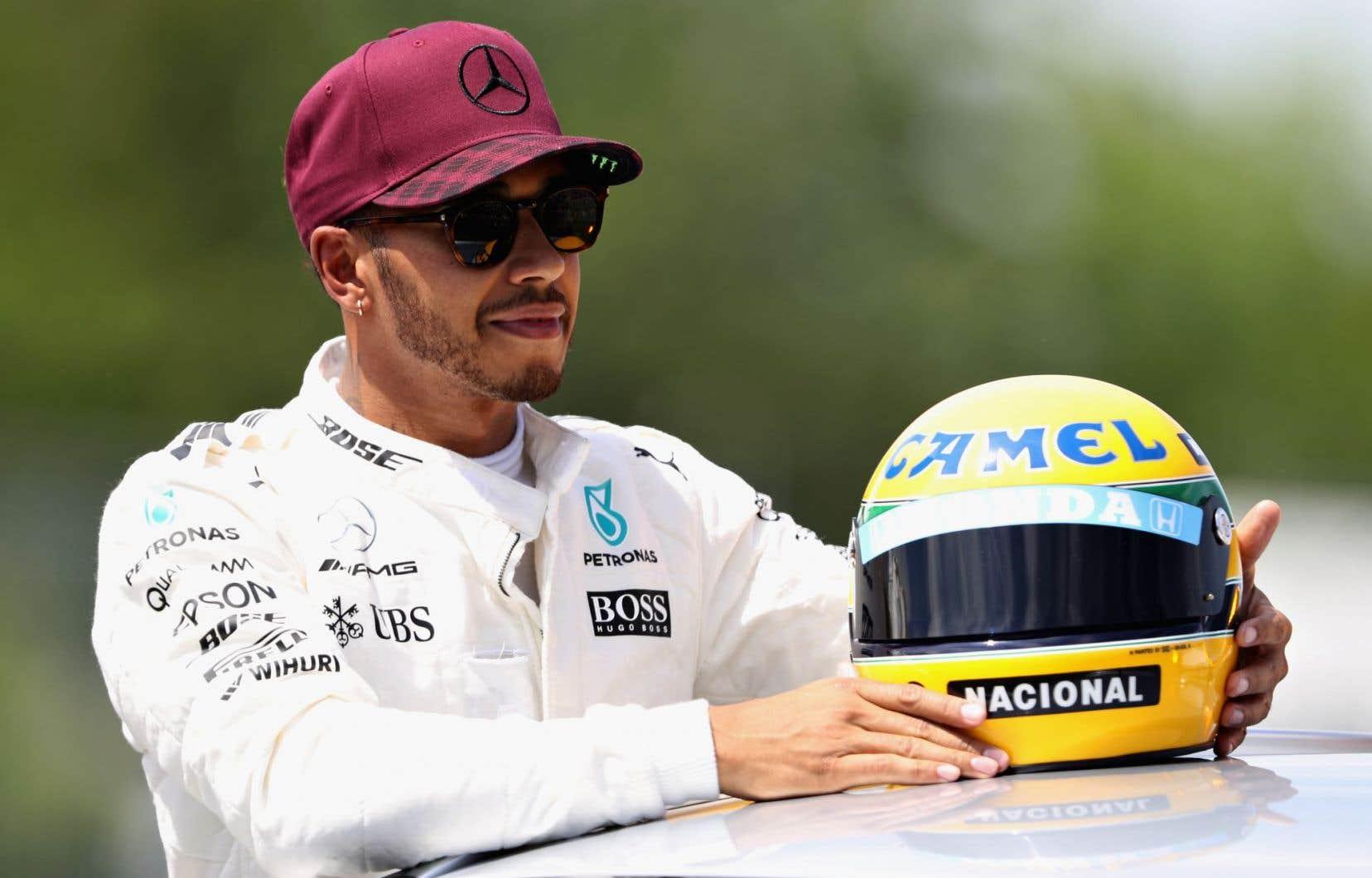 Toujours très à son aise sur la difficile piste de course de l'île Notre-Dame, Lewis Hamilton sera en quête d'une 6evictoire à Montréal.