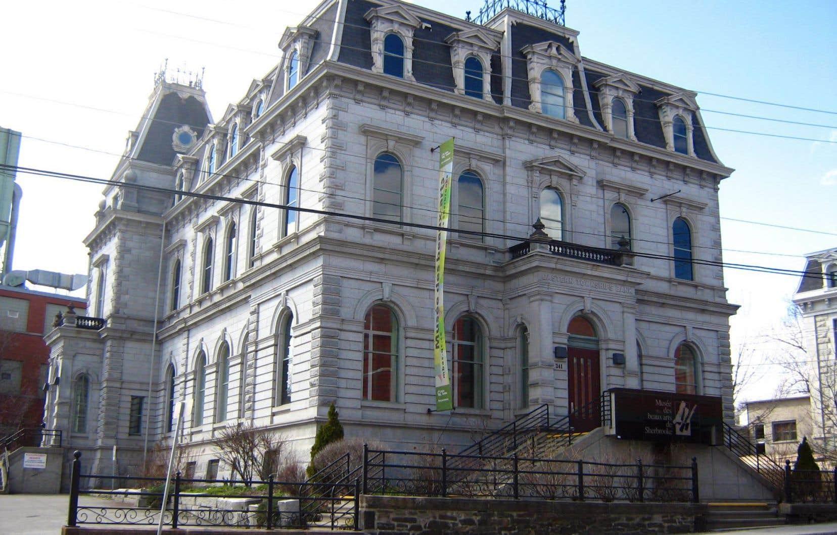Le Musée des beaux-arts de Sherbrooke figure sur la liste des institutions qui auront droit à une contribution financière.