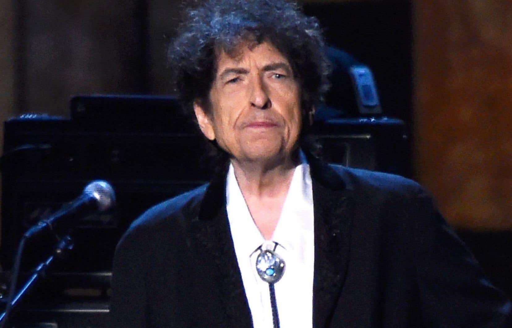 Le chanteur Bob Dylan en février 2015