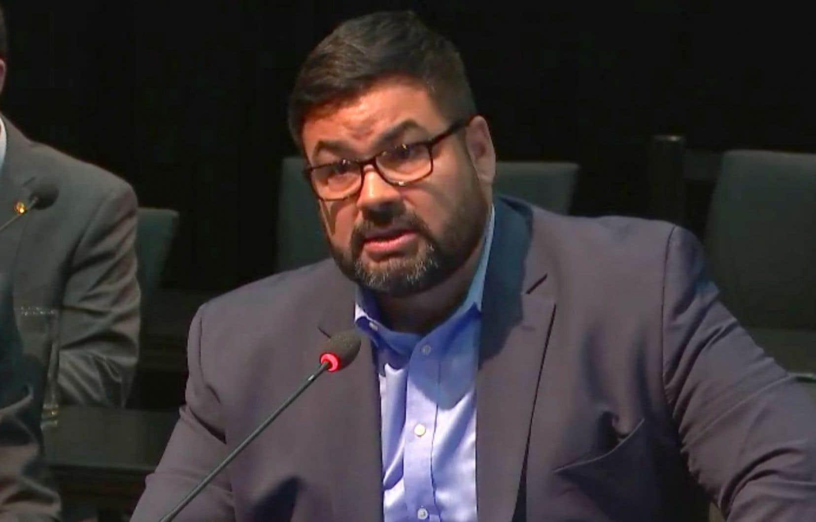 Le DPJ du conseil cri de la santé et des services sociaux de la baie James, Robert Auclair