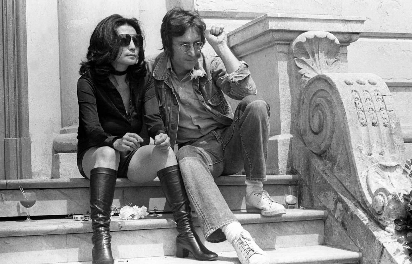Le couple Ono-Lennon en 1971