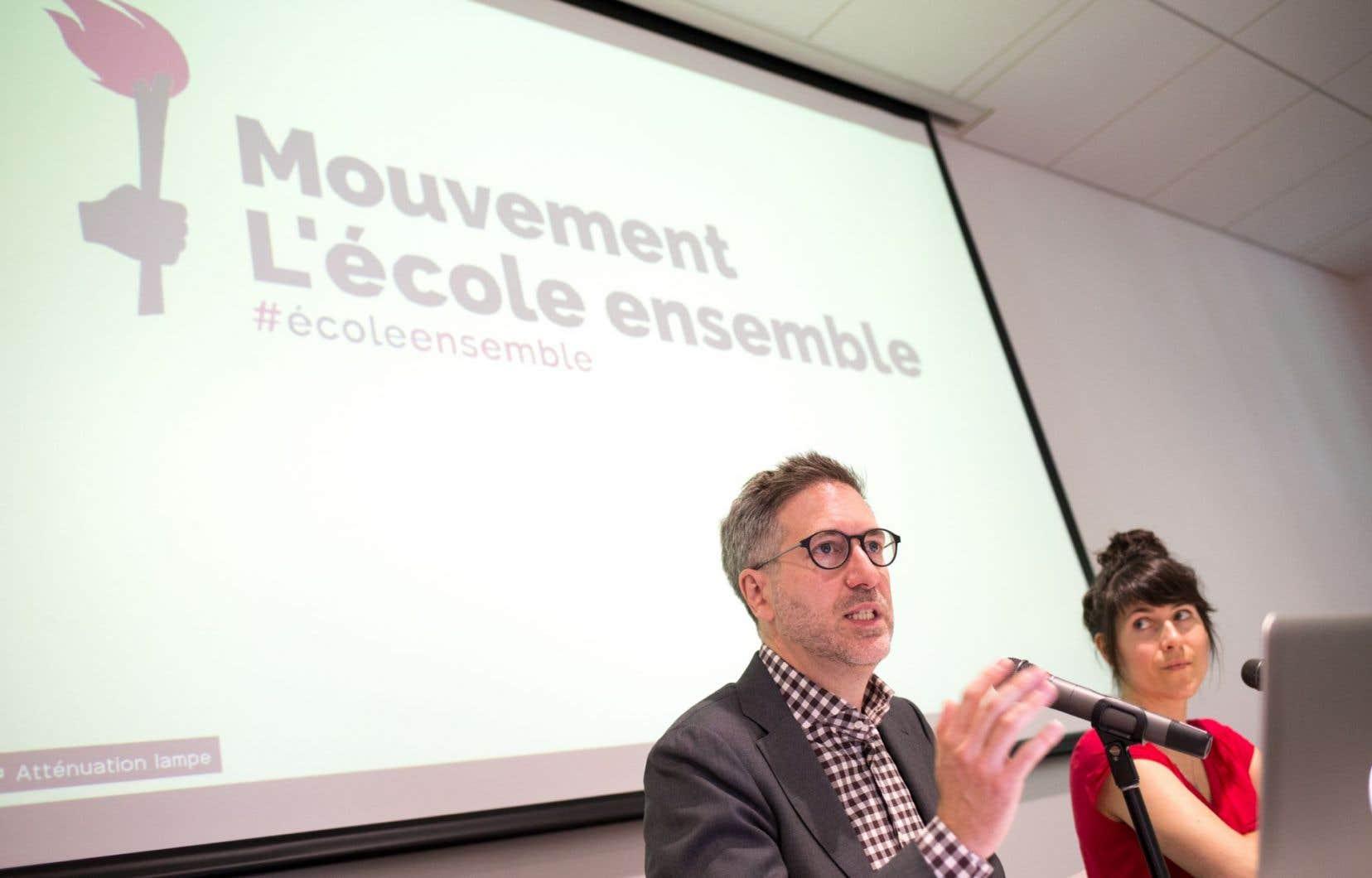 L'instigateur du mouvement veut s'attaquer au financement public des écoles privées.