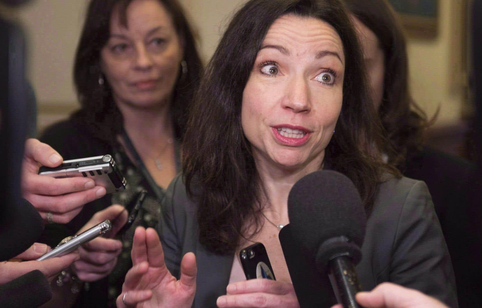 Martine Ouellet, chef du Bloc québécois