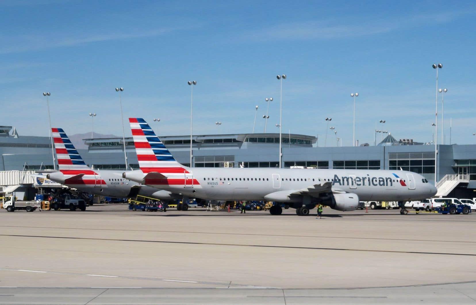 La compagnie American Airlines a annulé 43 vols en Arizona, mardi.
