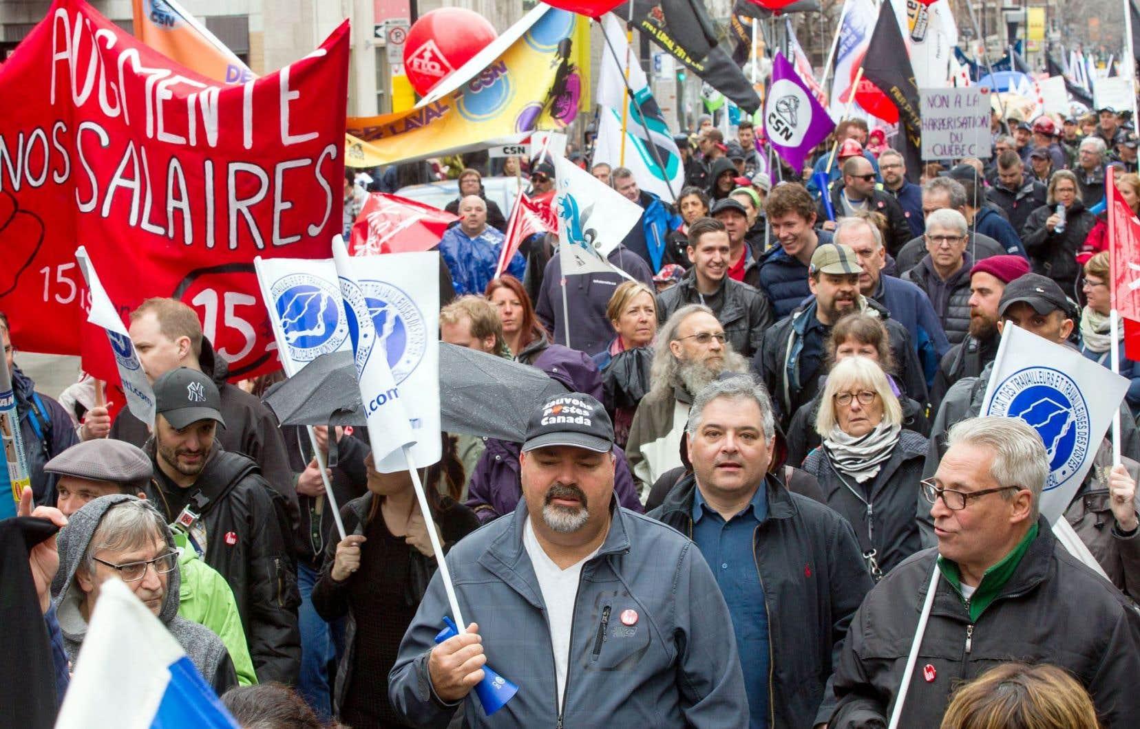 Le Canada s'engage à promouvoir le droit à la libre négociation et à protéger les travailleurs contre la discrimination syndicale.