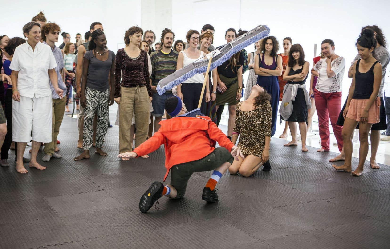 Marie Chouinard propose un fort contingent québécois pour les prochaines années de son commissariat artistique du volet danse de la Biennale de Venise, dont Benoît Lachambre (ci-dessus dans sa création «Lifeguard).