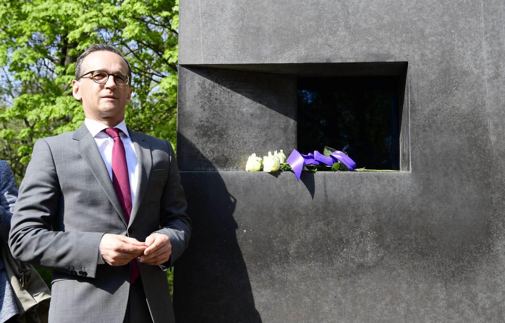 Le ministre allemand de la Justice, Heiko Maas