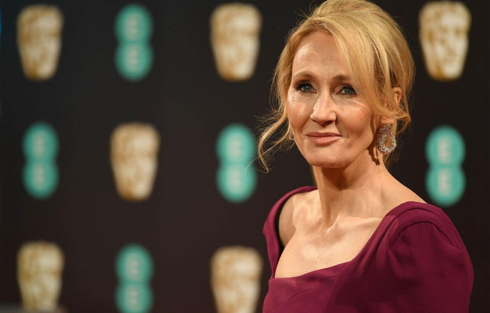 L'auteure J. K. Rowling
