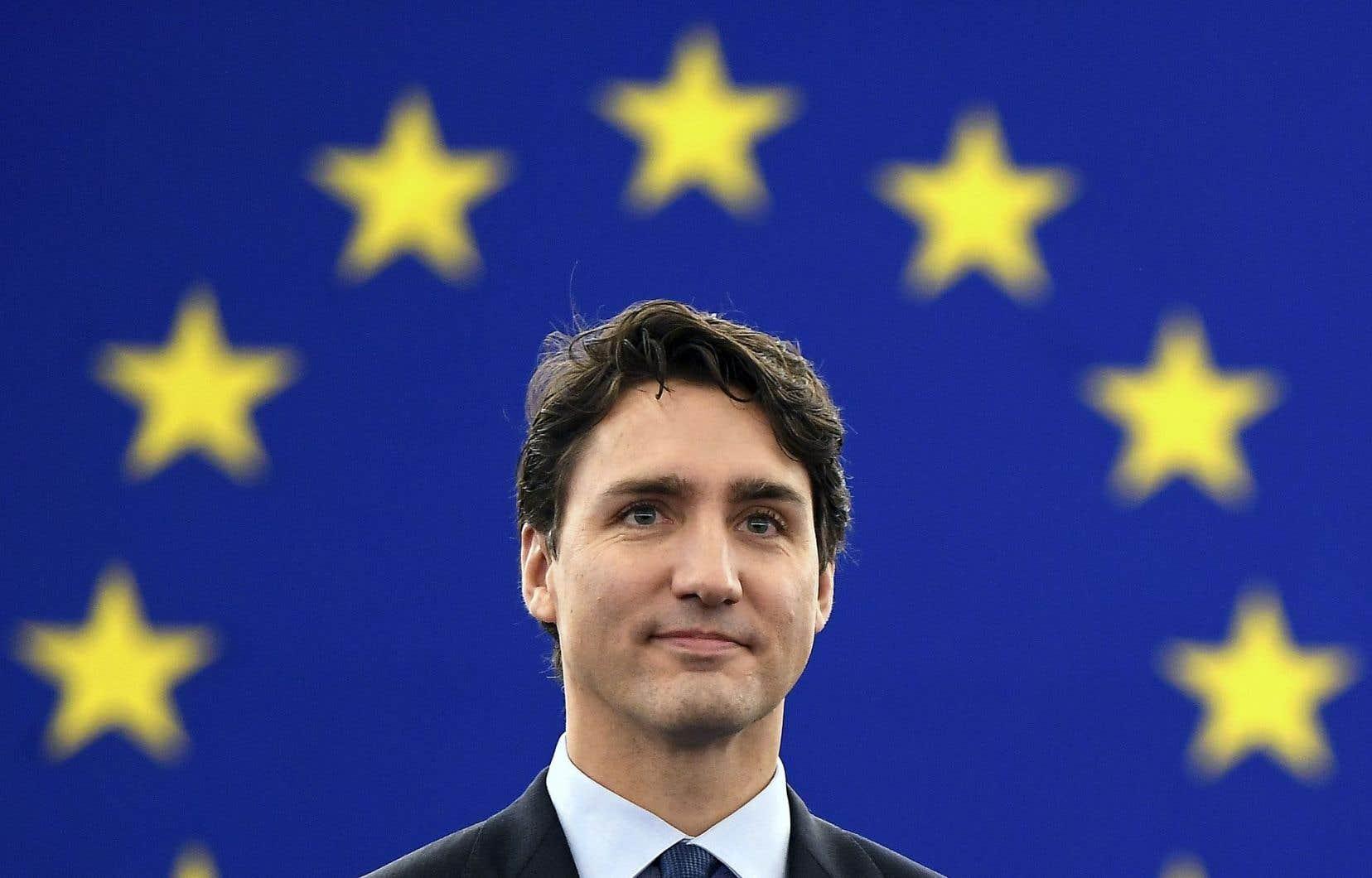 Le premier ministre du Canada, Justin Trudeau, a dit mercredi que l'AECG se trouve dans les dernières phases de l'implantation.