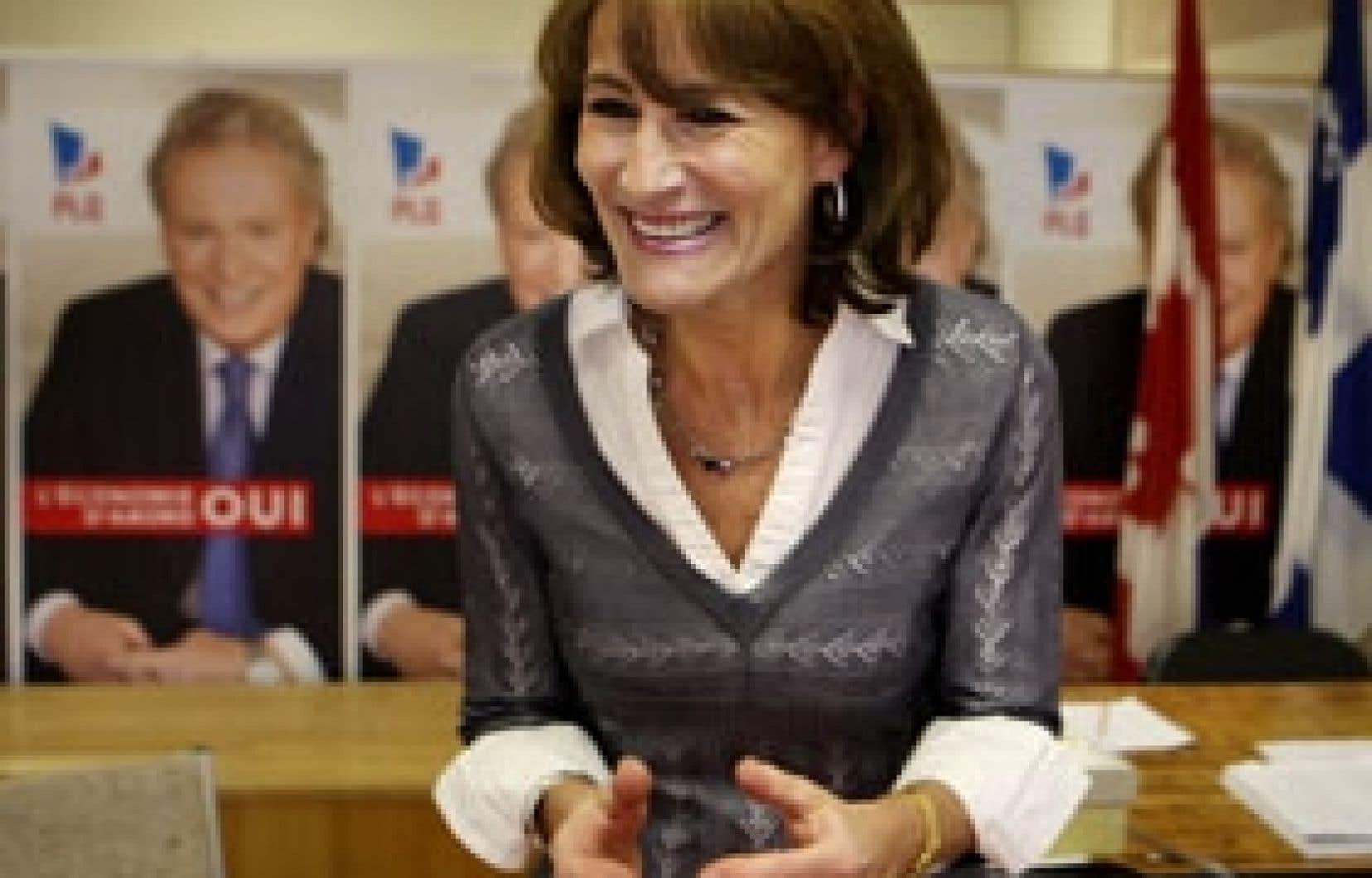 Kathleen Weil est une étoile montante du PLQ. Jean Charest a tenté aux deux élections précédentes de la convaincre de faire le saut en politique.