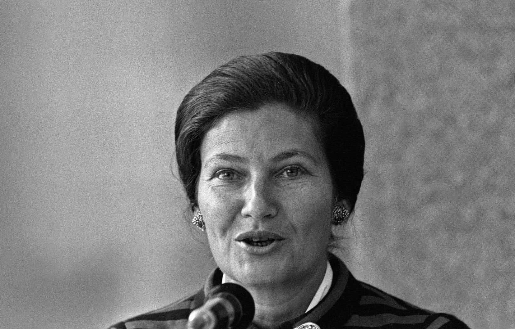 Simone Veil en 1976