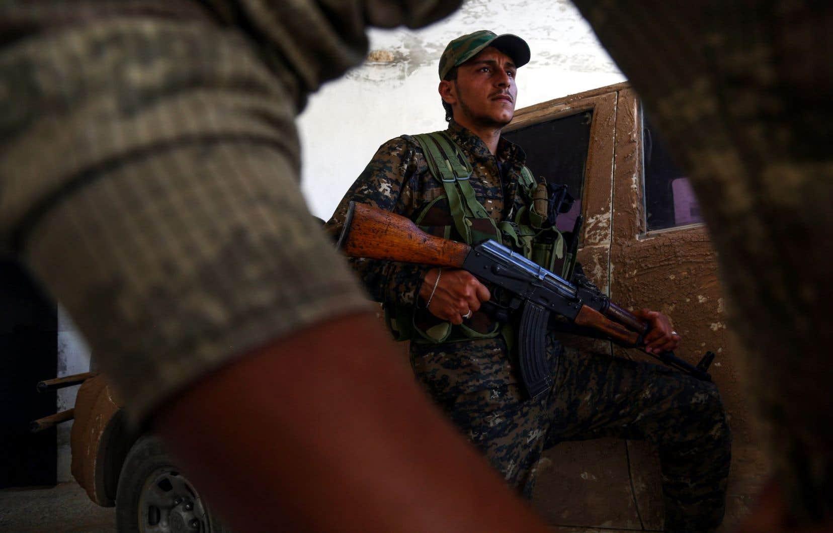 Capturée par les djihadistes en 2014, Raqqa est devenue le symbole des atrocités du groupe EI ainsi qu'une base pour la planification d'attentats commis à l'étranger.