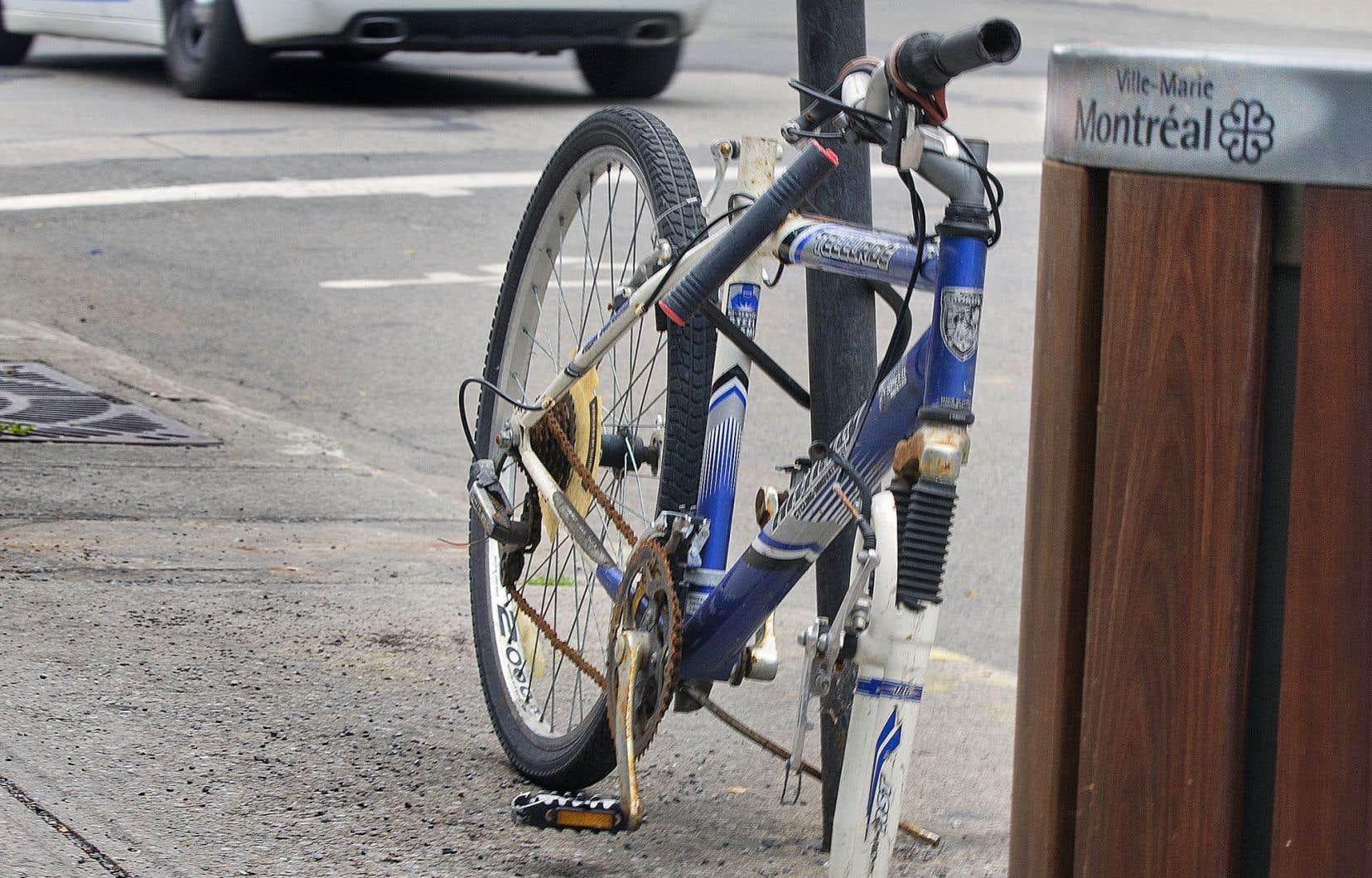 Les cyclistes ont une part de responsabilité dans leur propre malheur, croient certains experts. D'abord, il est de leur ressort de se munir d'un cadenas efficace.