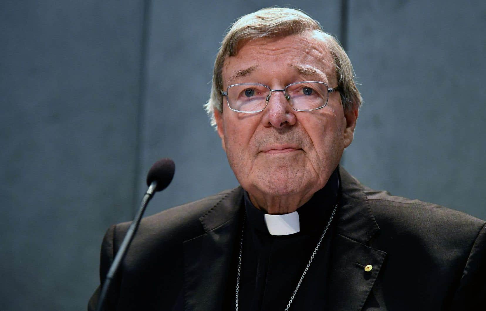 George Pell, 76ans, est le responsable des finances du Vatican.