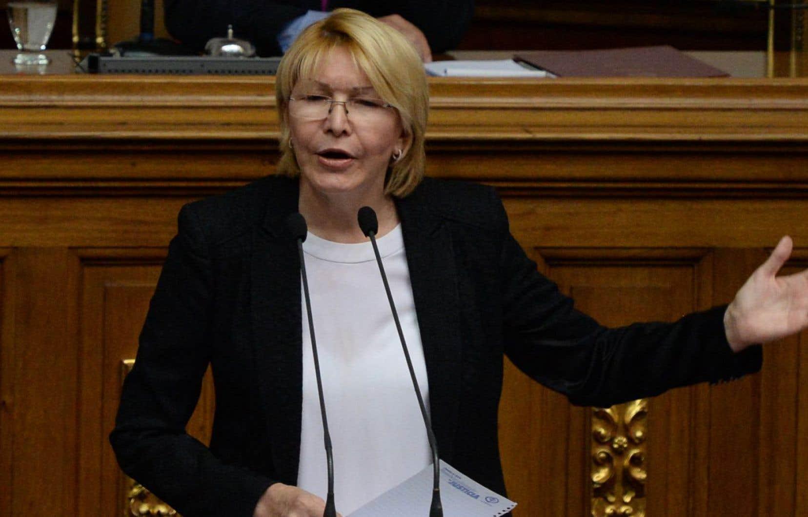 La procureure générale du Venezuela, Luisa Ortega