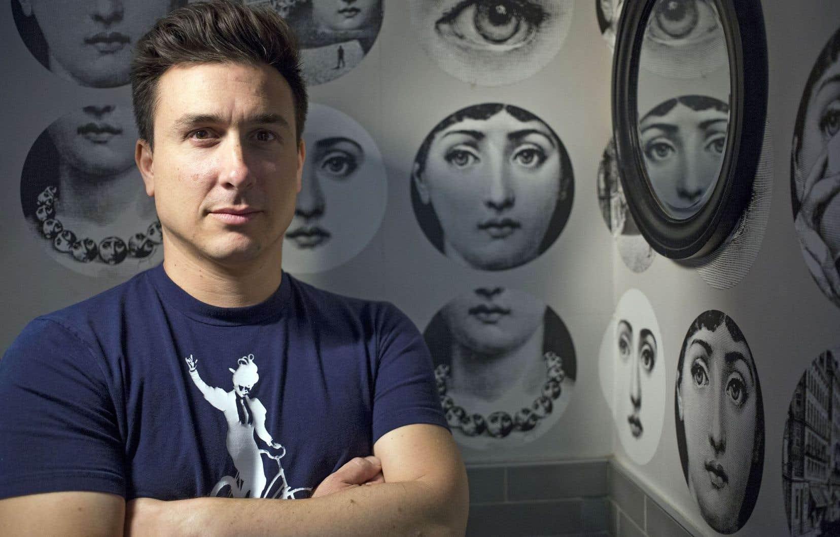 Frédéric Barbusci affirme que l'art spontané peut parfois surpasser en vérité un texte écrit et répété pendant des semaines.