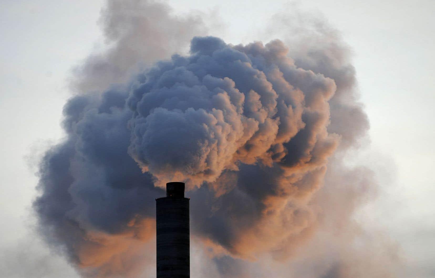 Les États-Unis se sont retirés y a un mois de l'Accord de Paris sur le climat, qui vise à réduire substantiellement les émissions mondiales de GES.