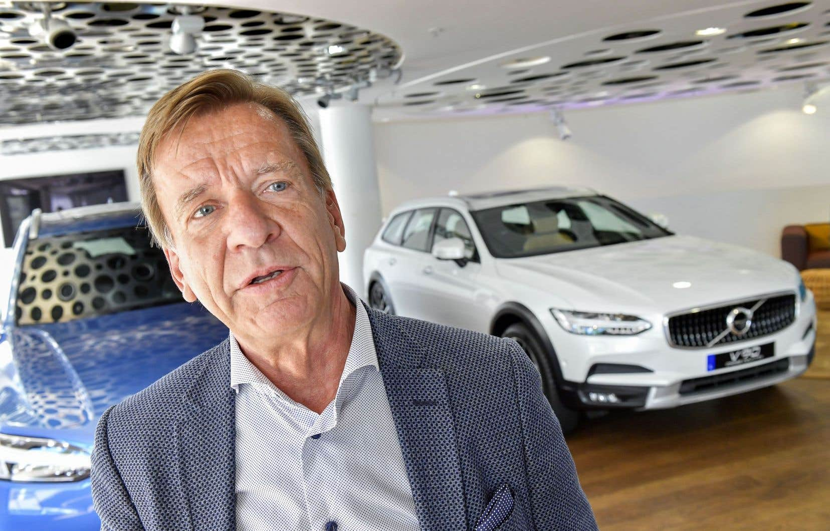 Le patron de Volvo, Håkan Samuelsson