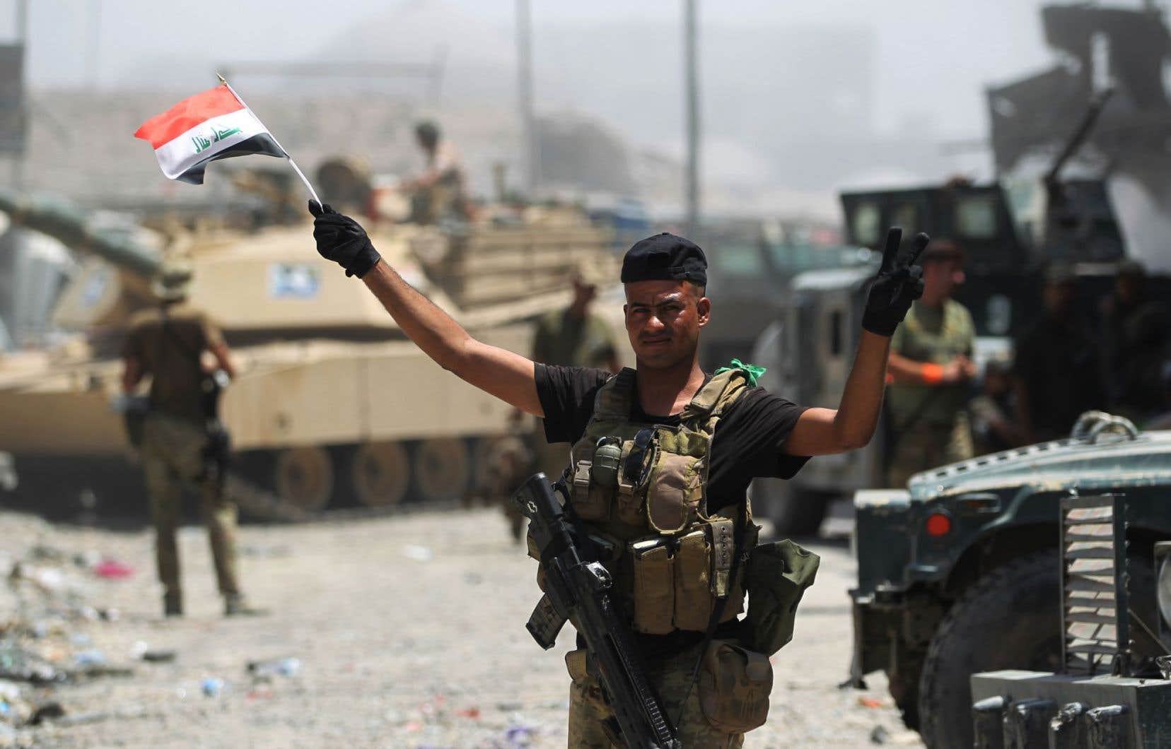 La fin des combats à Mossoul ne marquera pas la disparition du groupe EI, qui contrôle encore des secteurs en Irak et des territoires dans l'est et le centre de la Syrie.